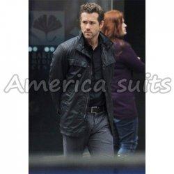 Ryan Reynolds Nick Walker Replica R.I.P.D leather jacket For Men