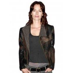 Sarah Conner Lena Heady Leather Jacket