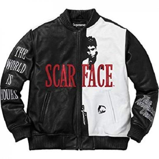 Supeme Jacket Scarface Jacket | Scarface Suits| Tony Montana Jacket