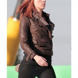Winter Soldier Scarlet Johnson Leather Jacket