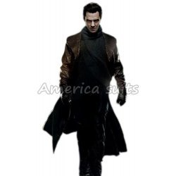 Star Trek Into The darkness Khan Black Leather Coat
