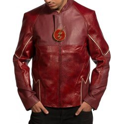 The Flash Grant Gustin Tv Show Leather Jacket