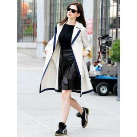 The Intern Anne Hathaway Trench Coat