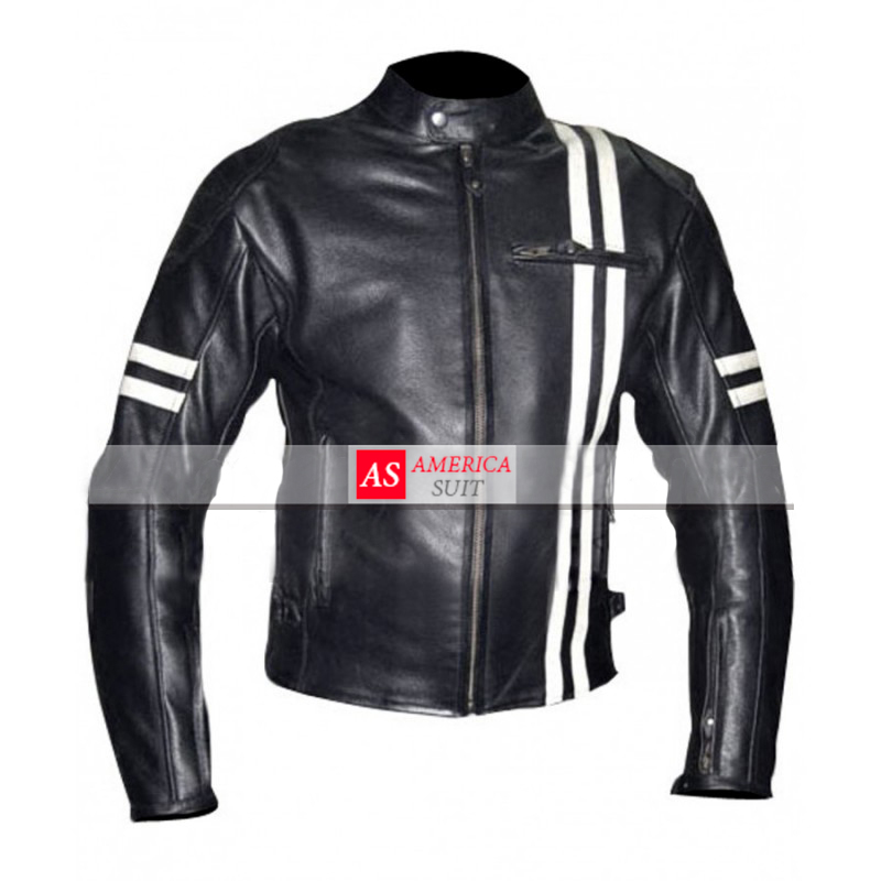 Leather jackets for motorcycle riders