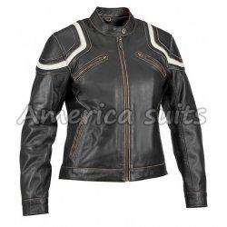 Vintage Women Biker jacket
