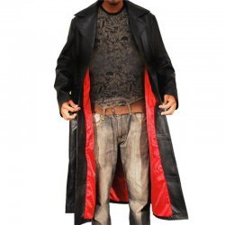 Wesley Snipes Blade Leather Tench Coat