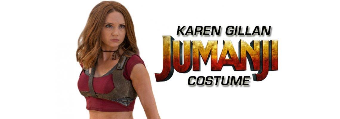 Karen Gillan Jumanji Costume Guide