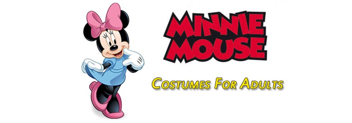 Minnie Mouse Costume For Adults
