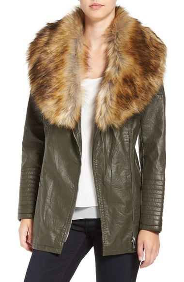 Faux_Leather_Jacket_with_Faux_Fur_Collar (2)
