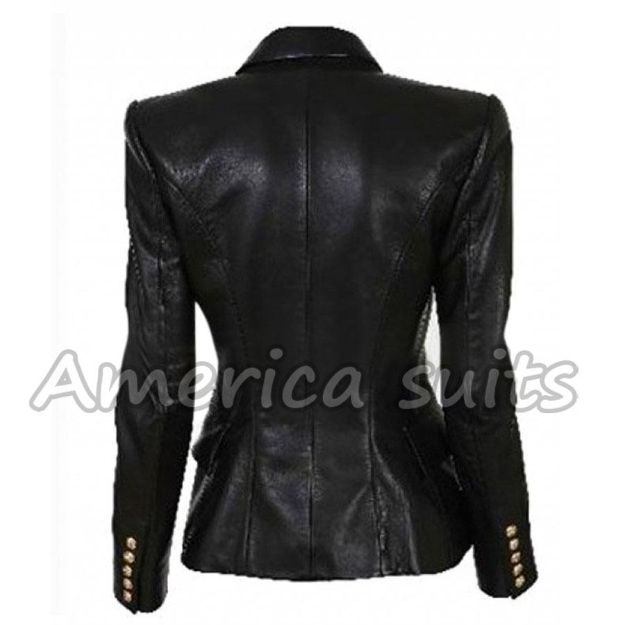 Kim Kardashian Leather Jackets