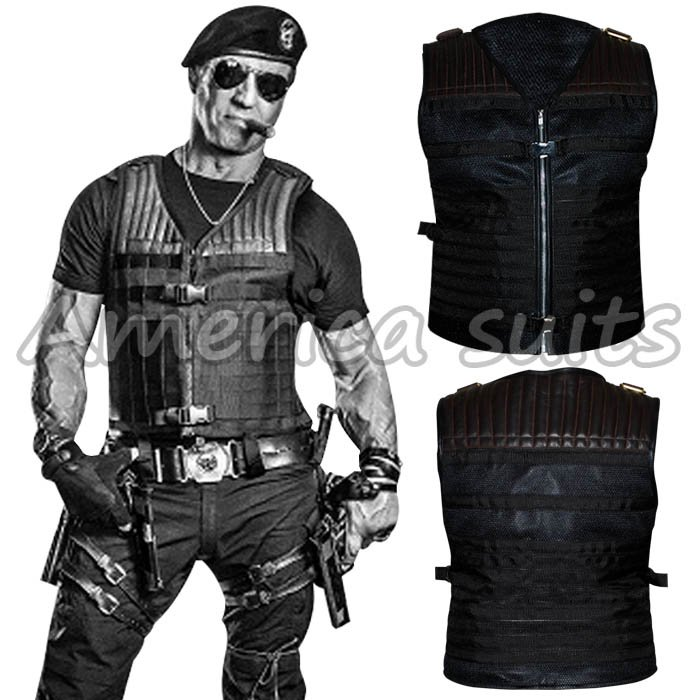 sylvester-stallone-expendables-3-black-leather-vest