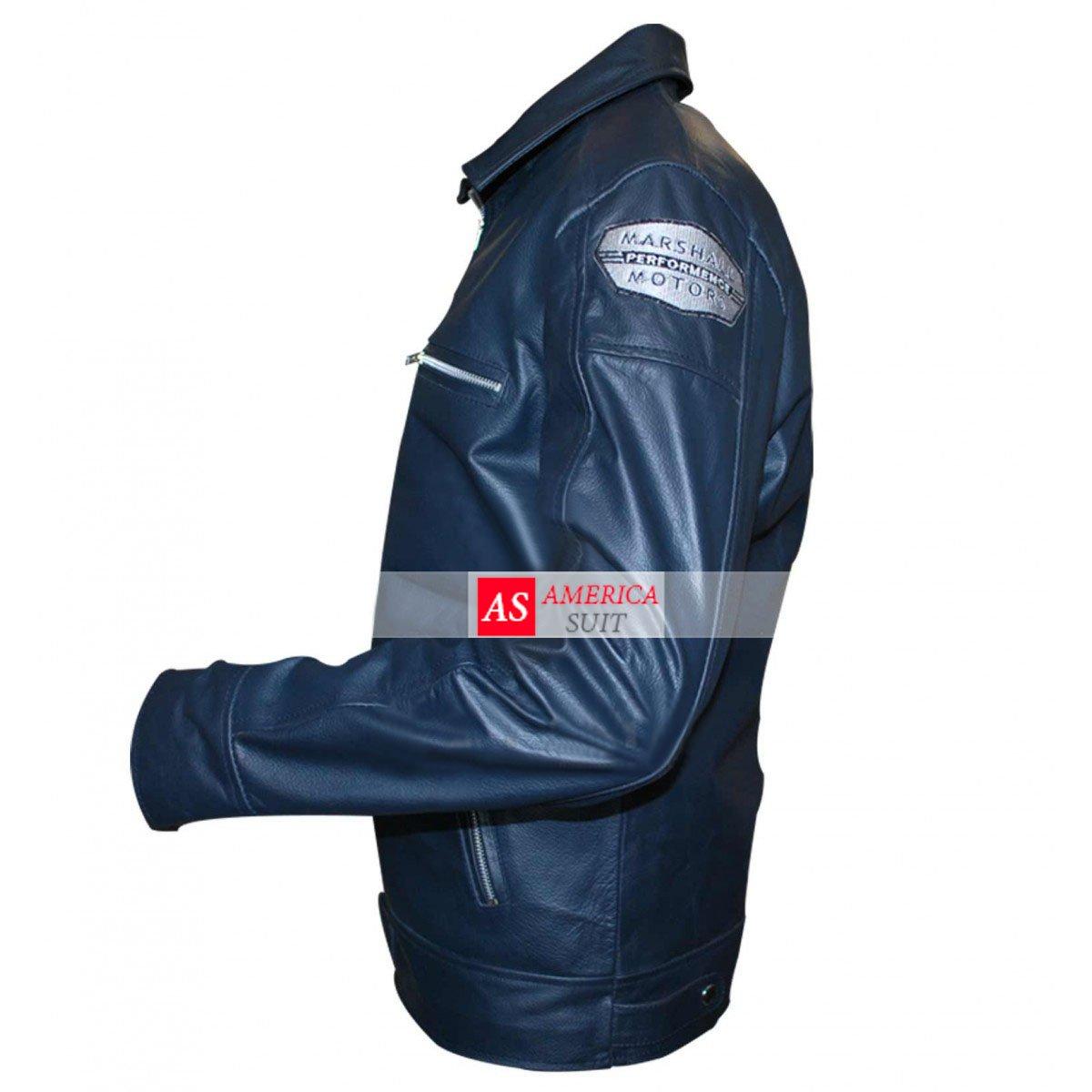 Need For Speed Aaron Paul Blue Jacket
