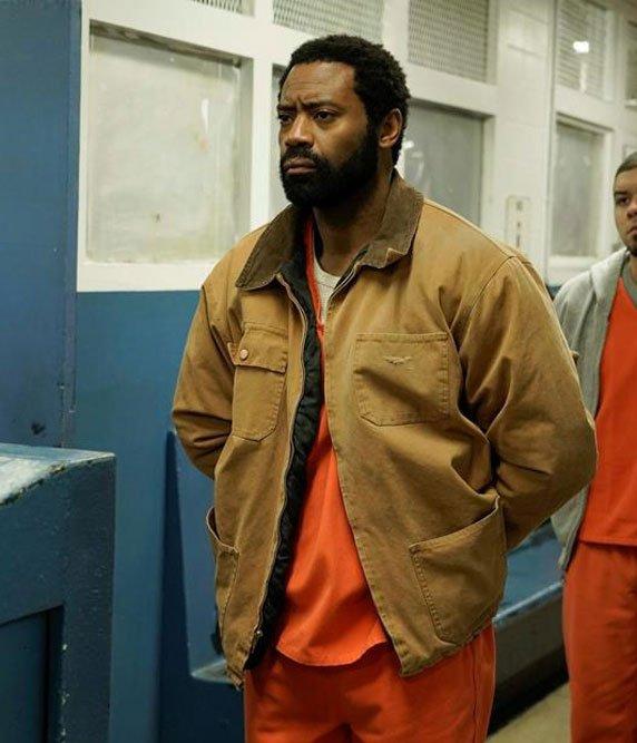 For-Life-TV-Series-Nicolas-Pinnock-Brown-Jacket