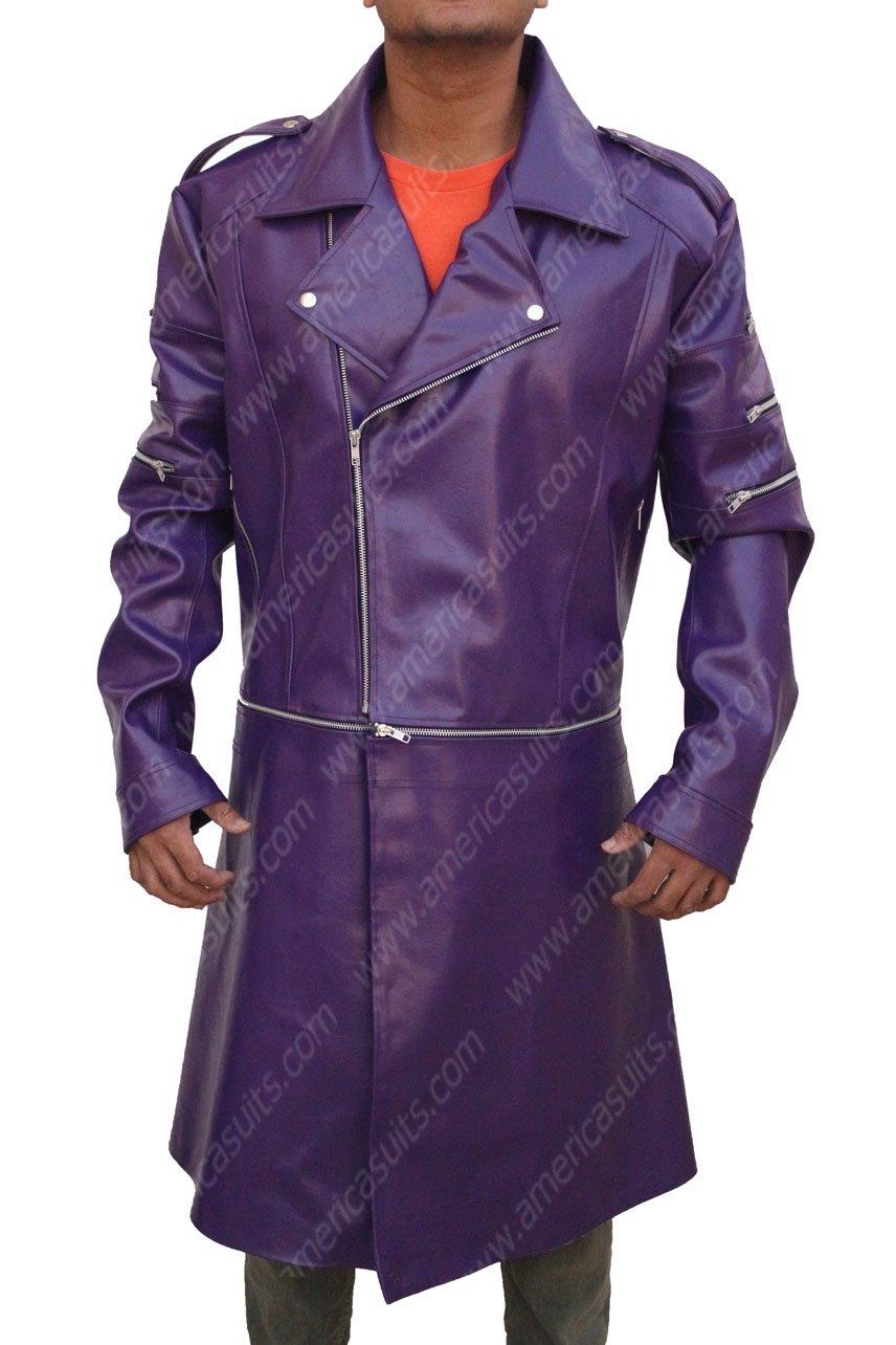 Adam Lambert Purple Jacket
