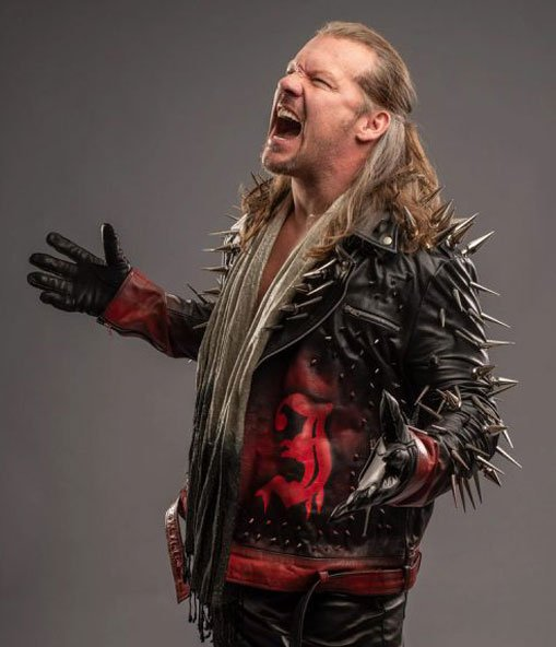 Chris-Jericho-AEW-Jacket-With-Studds
