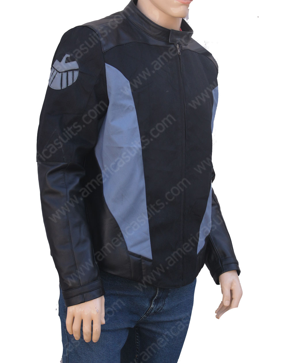 Agents of Shield Mike Peterson black jacket
