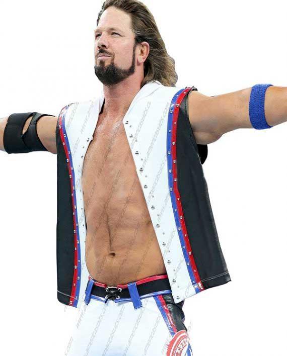 Wrestlemania Aj Style Phenomenal Hoodie Vest