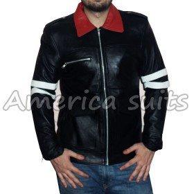 New Alex Mercer Prototype Gaming Black Leather Jacket