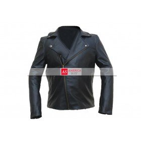 Alex Turner One For The Road Leather Jacket For Men