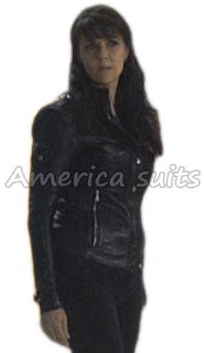 Amanda Tapping Sanctuary Black Jacket