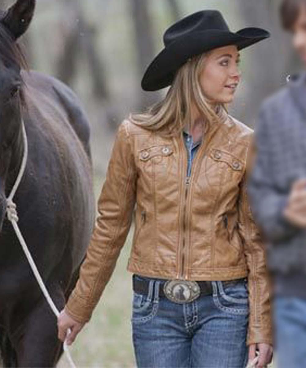 Heartland-Amber-Marshall-Leather-Jacket