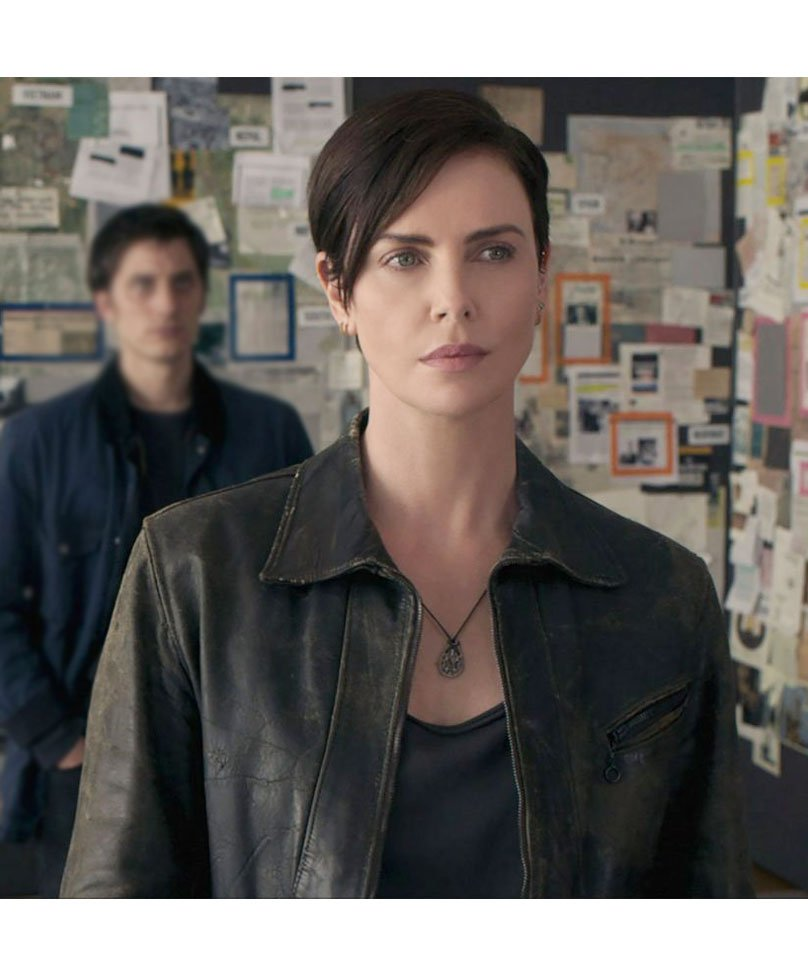Andy-The-Old-Guard-Charlize-Theron-Leather-Jacket