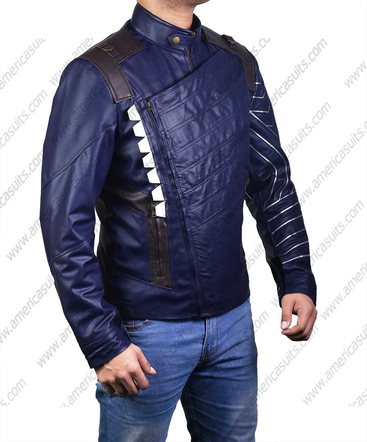 Winter Soldier Bucky Barnes Jacket