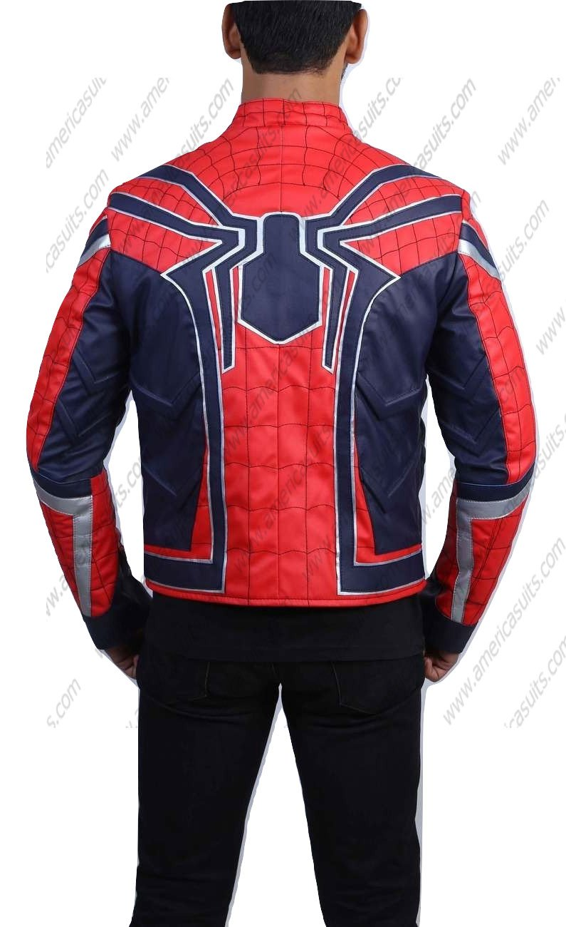 Infinity war Tom Holland Spiderman Jacket