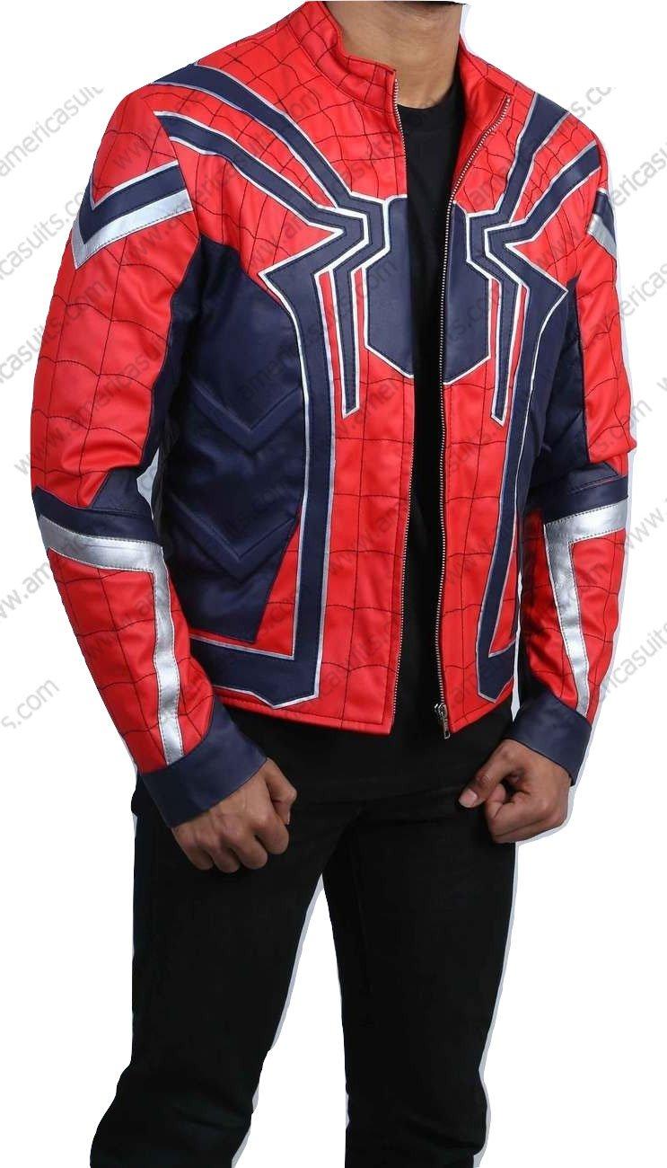 Spiderman Peter Parker Avengers Jacket