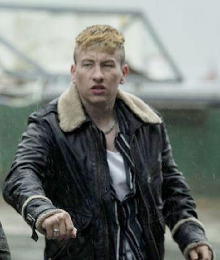 Calm with Horses Barry Keoghan Shearling Jacket