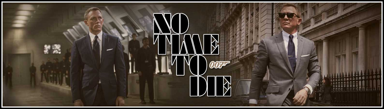 No Time To Die Merchandise