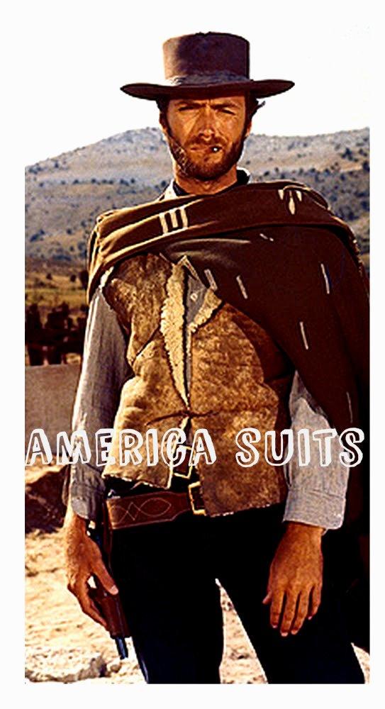 Clint Eastwood Nubik Leather Jacket