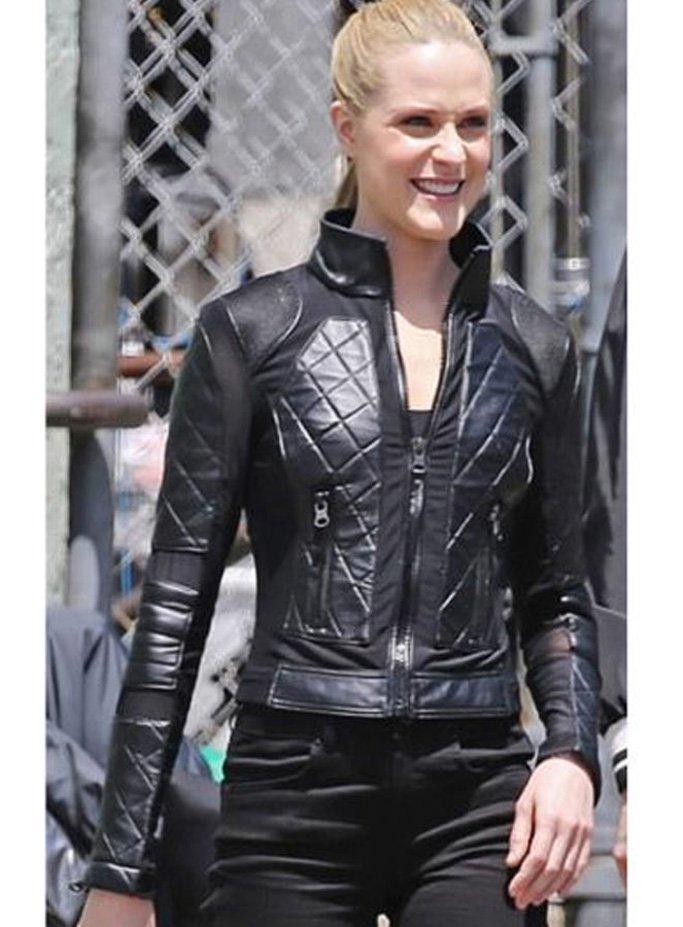 Westworld Season 3 Evan Rachel Wood Leather Jacket