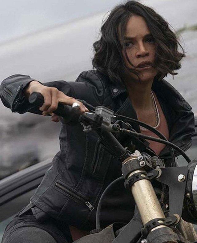 Michelle-Rodriguez-F9-The-Fast-Saga-Black-Leather-Jacket