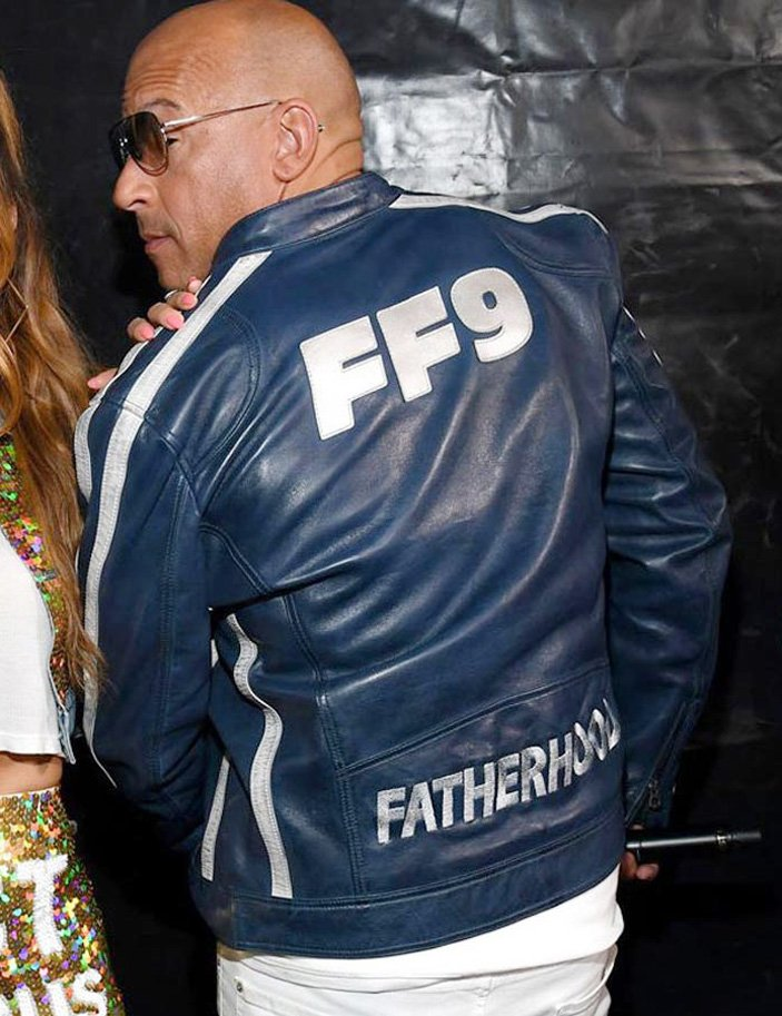 The-Road-To-Fast-and-Furious-9-Concert-Vin-Diesel-Blue-Jacket