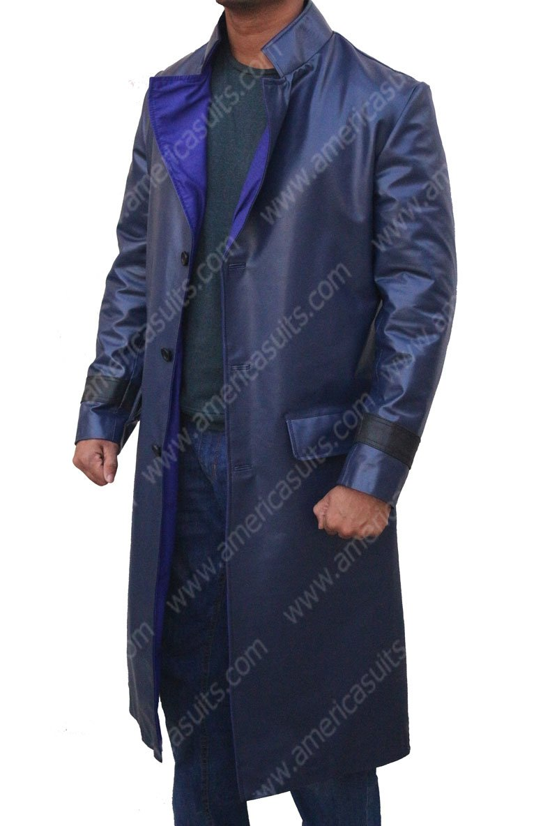 Glass Trench Coat
