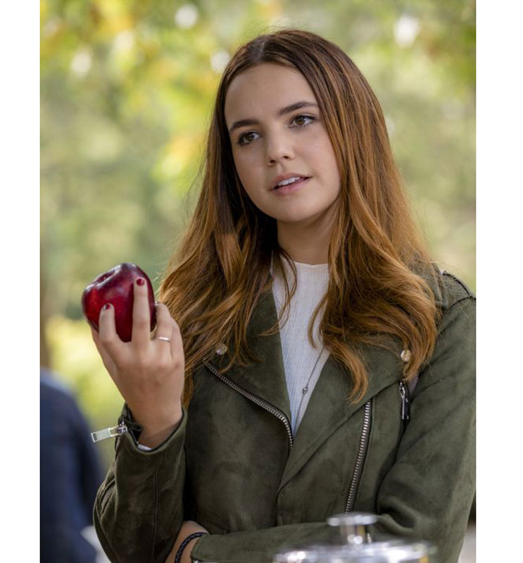 Grace Russell Good Witch Green Leather Jacket