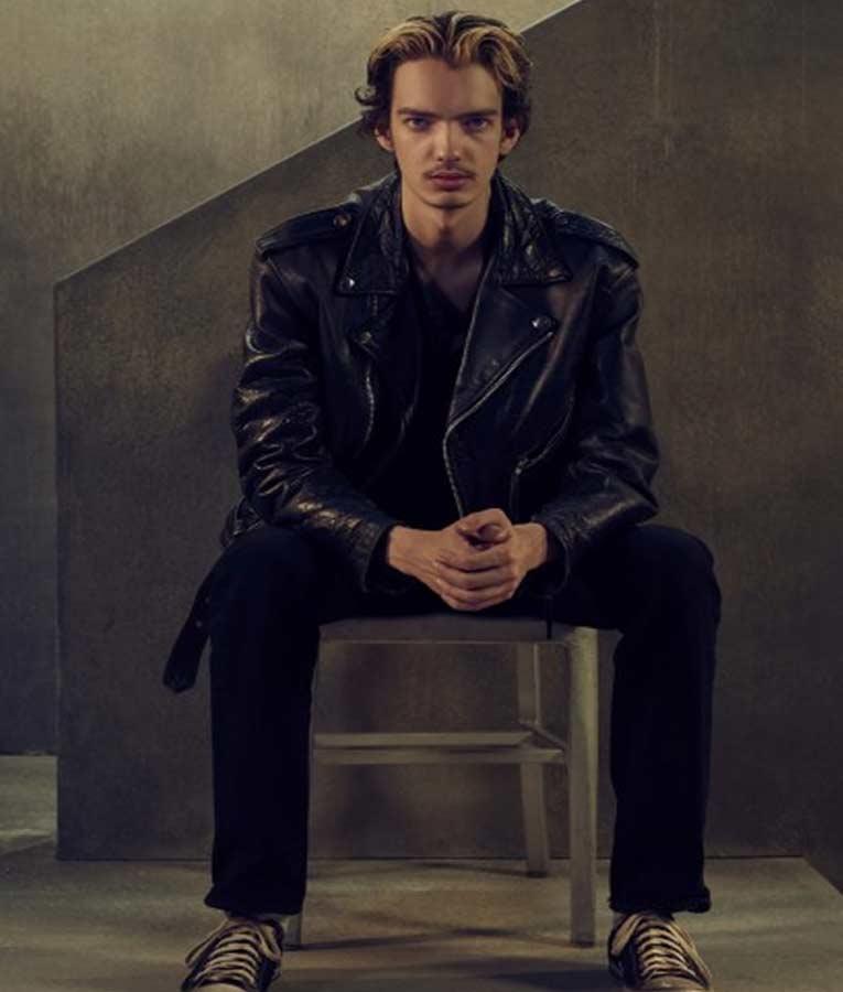Interrogation Chris Keller Leather Jacket
