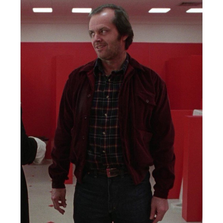 The Shining Jack Torrance Red Corduroy Jacket