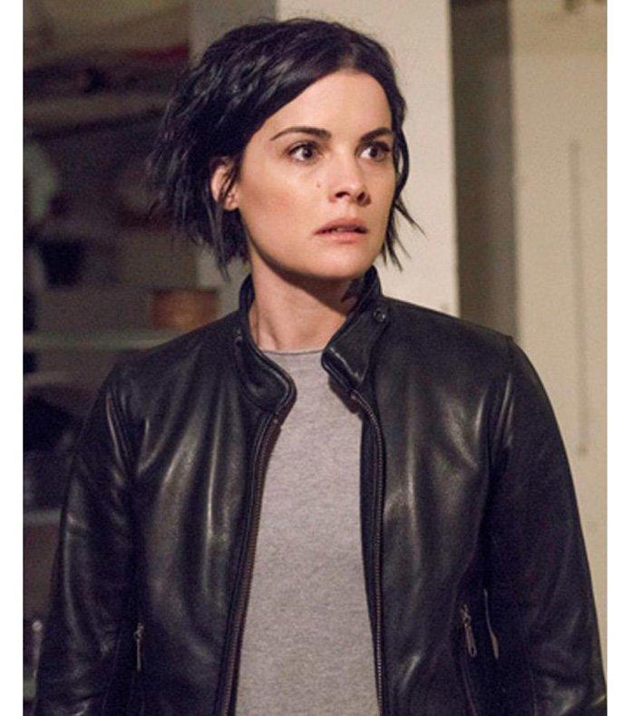 Blindspot Jane Doe Black Leather Jacket