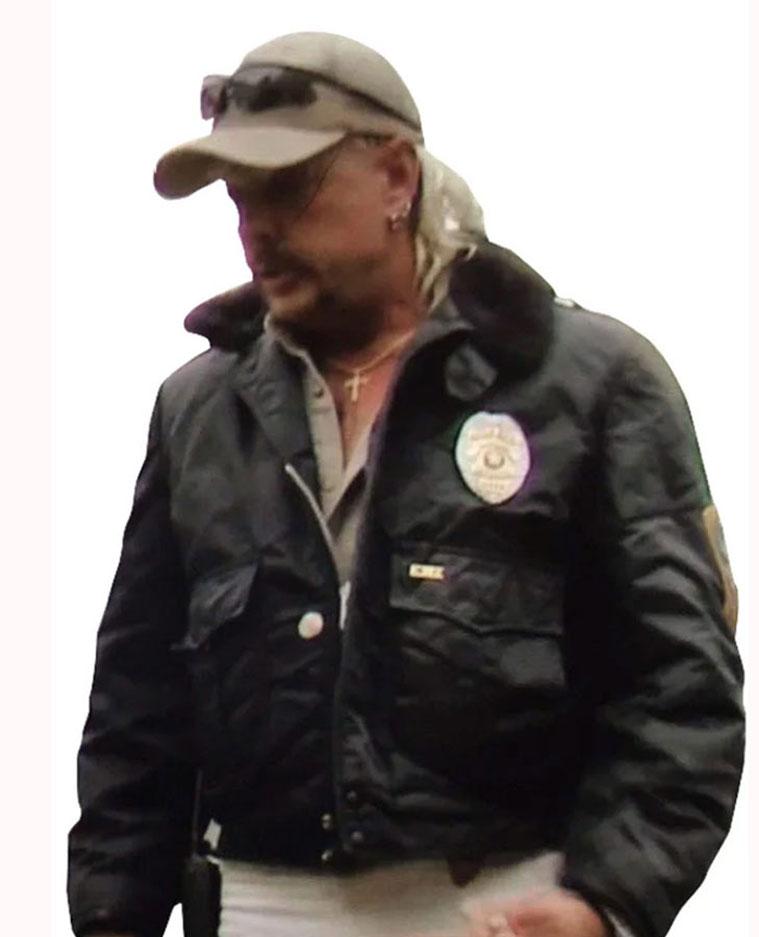 Joe Exotic Tiger King Black Jacket