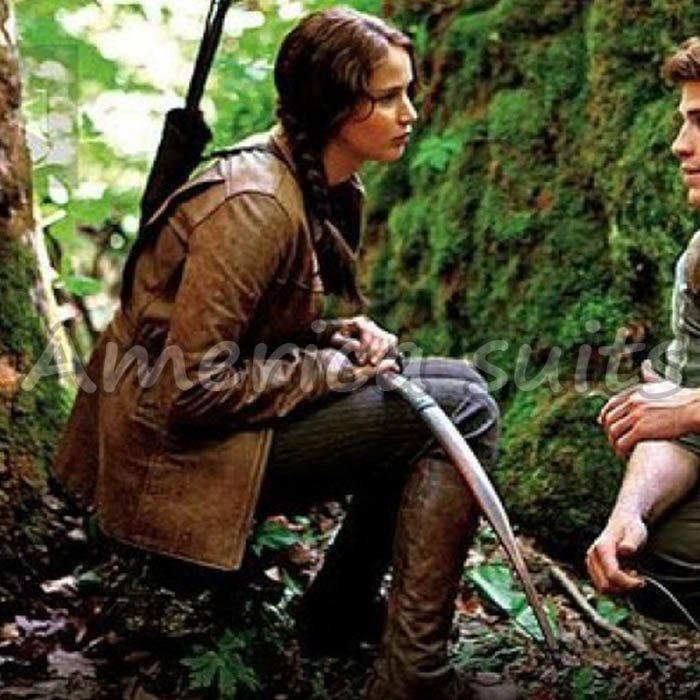Katniss Leather Jacket