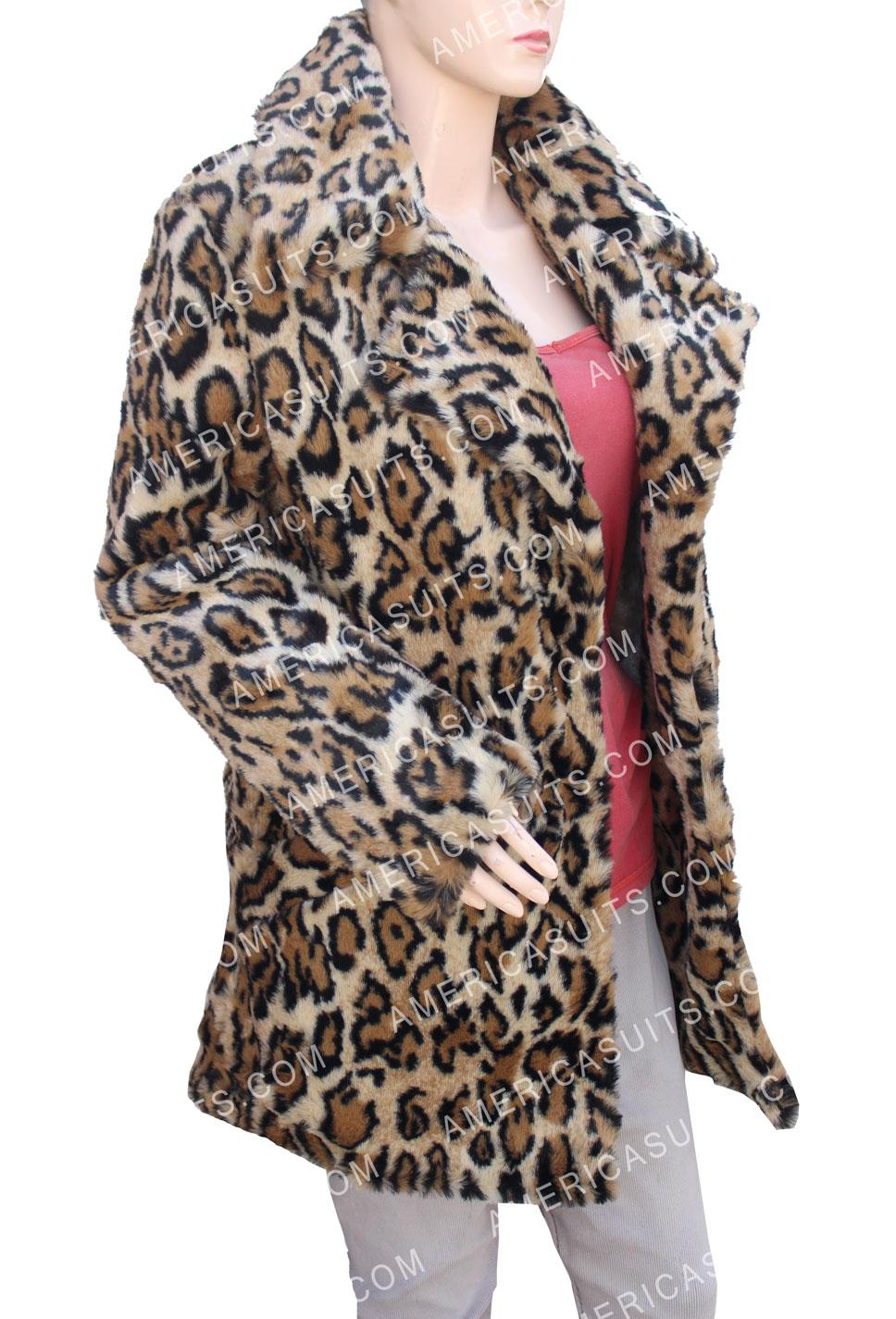 Last Christmas Young Kate Cheetah Print Coat