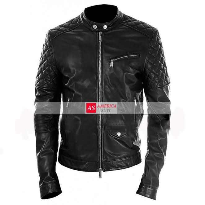 men-black-leather-motorbike-jacket