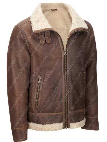 Mens-Light-Brown-Shearling-Aviator-Jacket-(1)