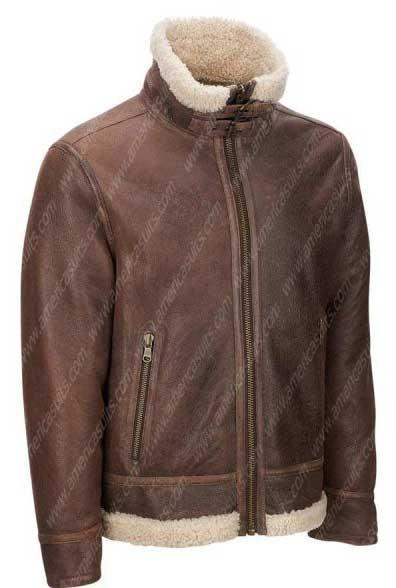 Mens-Light-Brown-Shearling-Aviator-Jacket-(2)
