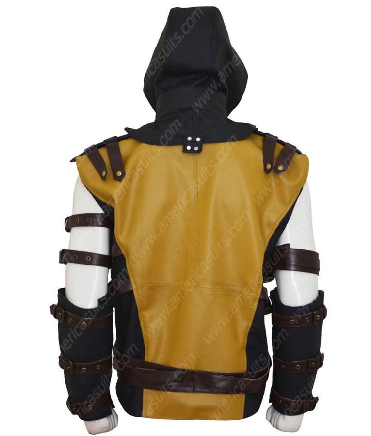 Mortal-Kombat-10-ScorpionYellow-Leather-Jacket-(2)