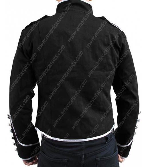 My Chemical Romance Leather Jacket Black Parade Jacket
