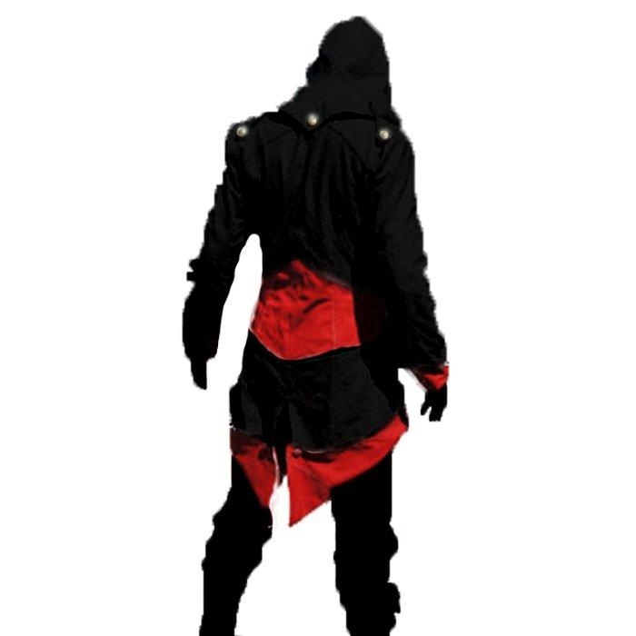 Red and Black Ninja Coat