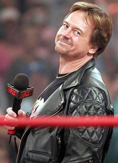 Rowdy Roddy Piper Black Leather Jacket